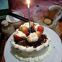 巧克力戚风~生日蛋糕的做法图解17
