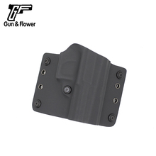 Gunflower Outside the Waistband Pistol Cover OWB Kydex Holster with Adjustable Retention for CZ 75 P-07