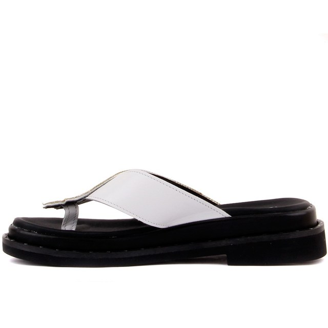 Pierre Cardin-Leather, Toe Thong, Women's Slip On Shoes