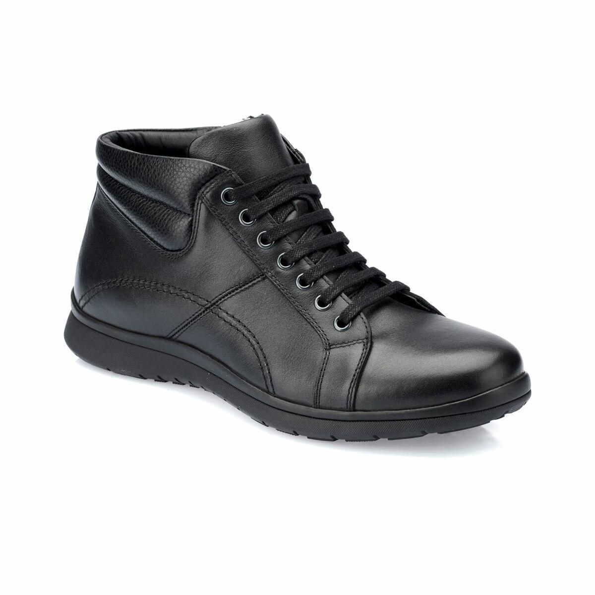 Flo 82.100619.m preto sapatos masculinos polaris 5 ponto