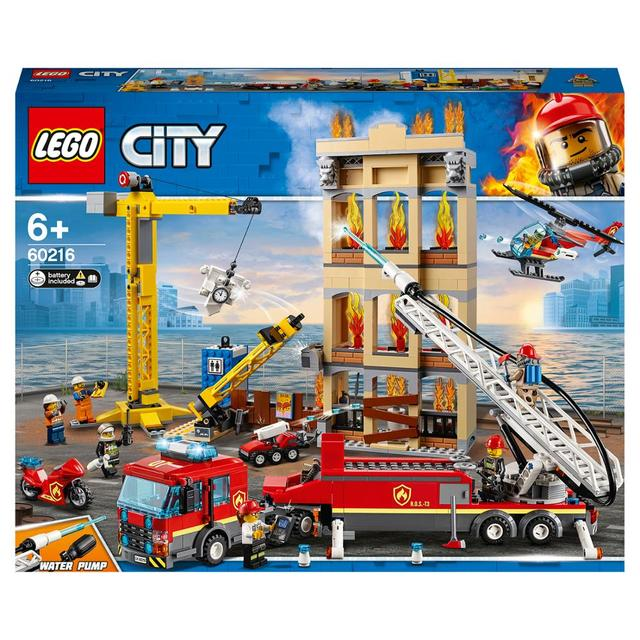 Конструктор LEGO City Fire Центральная пожарная станция