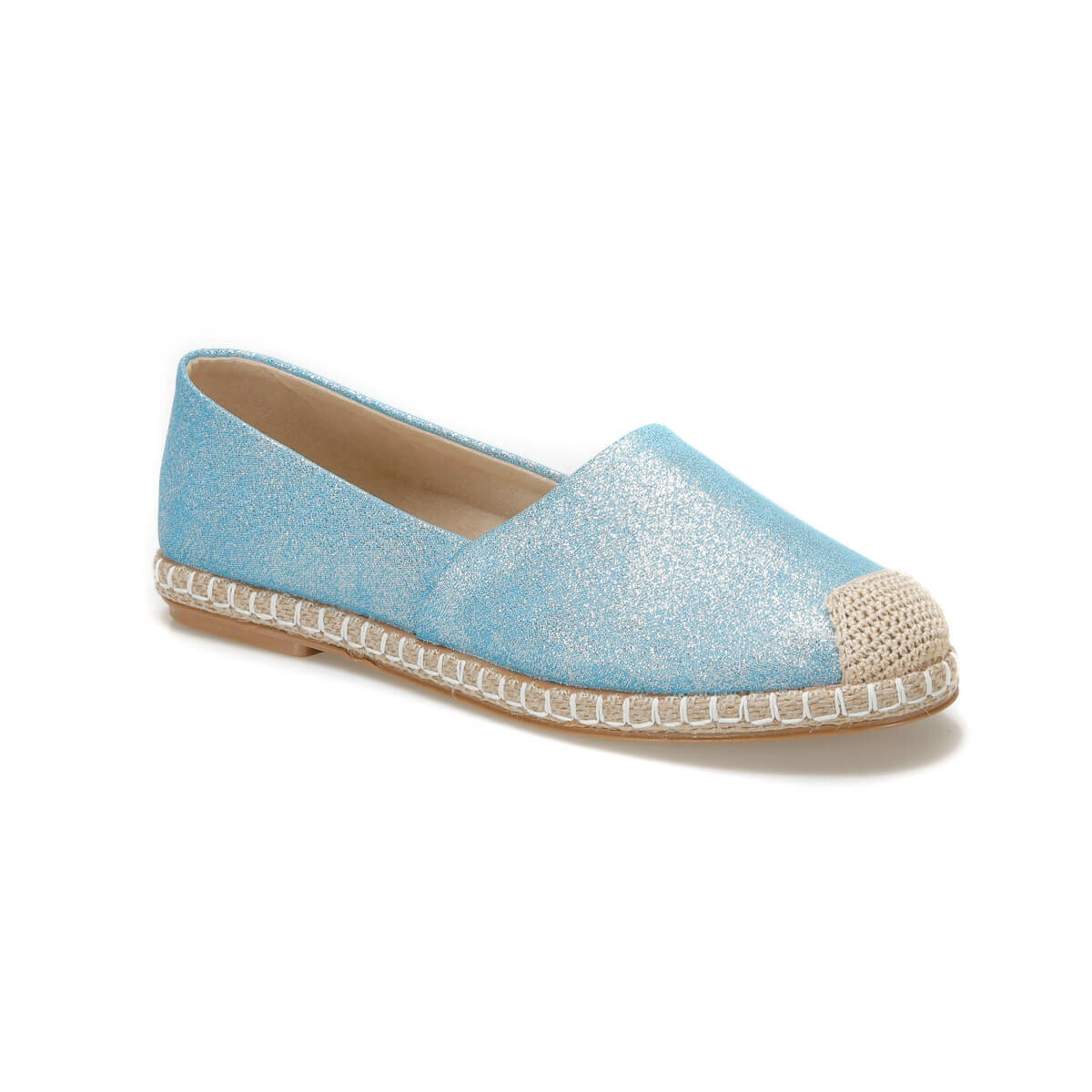 FLO OKOCHA67Z Blue Women Espadril Shoes BUTIGO