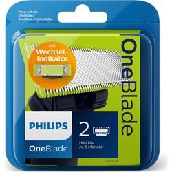 Philips OneBlade Сменная головка лезвия-100% оригинальная-2 лезвия