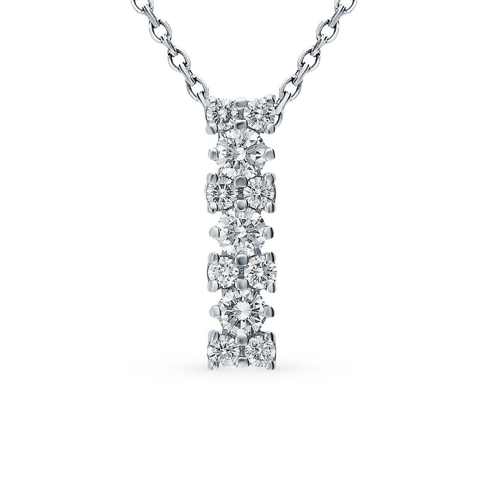 "Gold Pendant ""diamonds Of Yakutia"" SUNLIGHT Test 585"