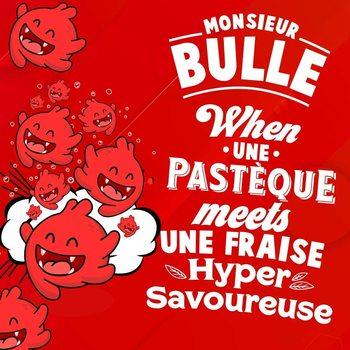 Monsier – Bulle-pastille à la Fraise, e-liquide, 50ML, sans nicotine, 50vg/50pg, cigarettes électroniques, vapoteur