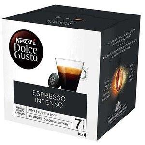 Intense espresso coffee 16 units Dolce Gusto. Capsules Original