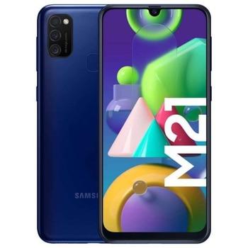 Перейти на Алиэкспресс и купить Samsung Galaxy M21 4 ГБ/64 Гб Blue Dual SiIM M215
