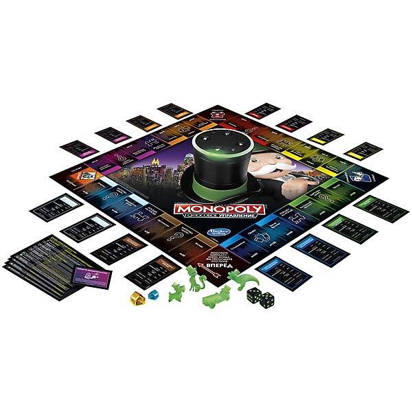 Jeu de société Hasbro Gaming monopole, avec commande vocale - 2