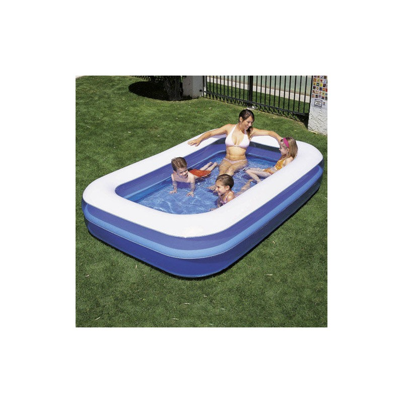Inflatable Pool Rectangle 262x175x51 Cm.