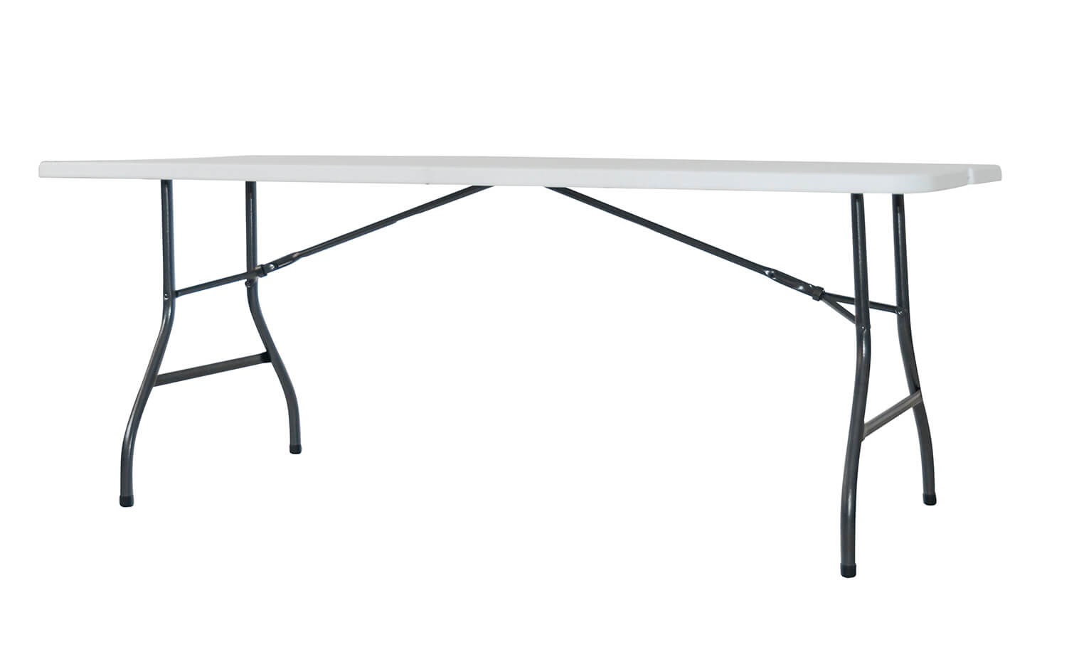 Newstorm Steel Table Folding Type Suitcase Oskar180 + White-4999100100235L