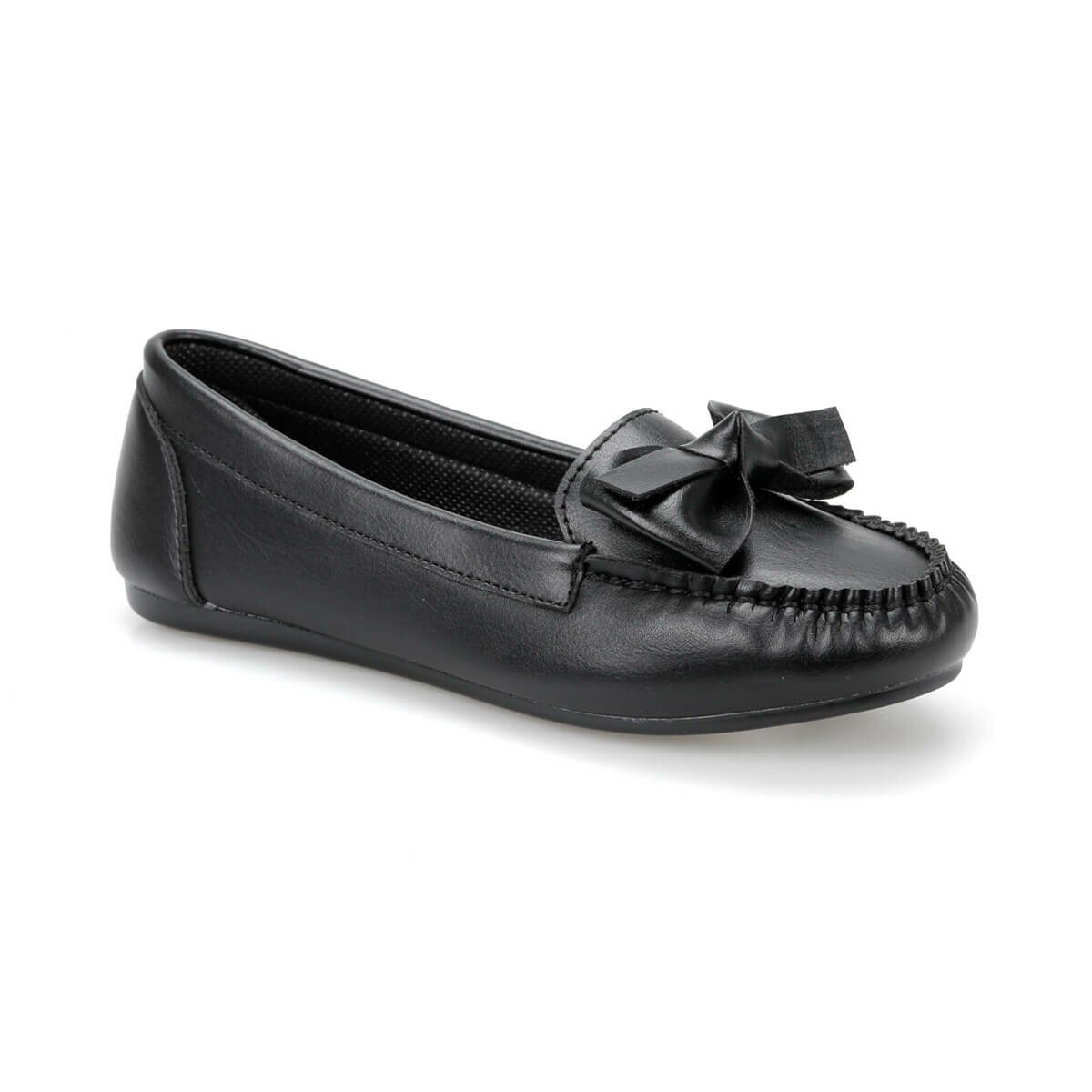 FLO DS19028 Black Women Loafer Shoes Miss F