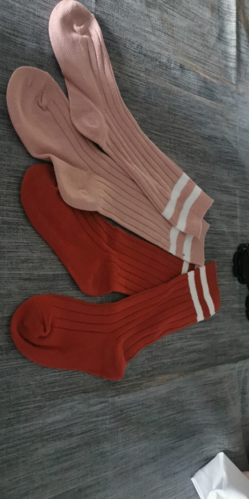 1-9 Years Kids Boys Toddlers Girls Socks Knee High Long Soft Cotton Baby Socks Stripped Children Socks School Clothes photo review