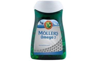 Möllers Omega 3 60 kapsułek tanie i dobre opinie Mężczyzna 12 + y DE (pochodzenie)