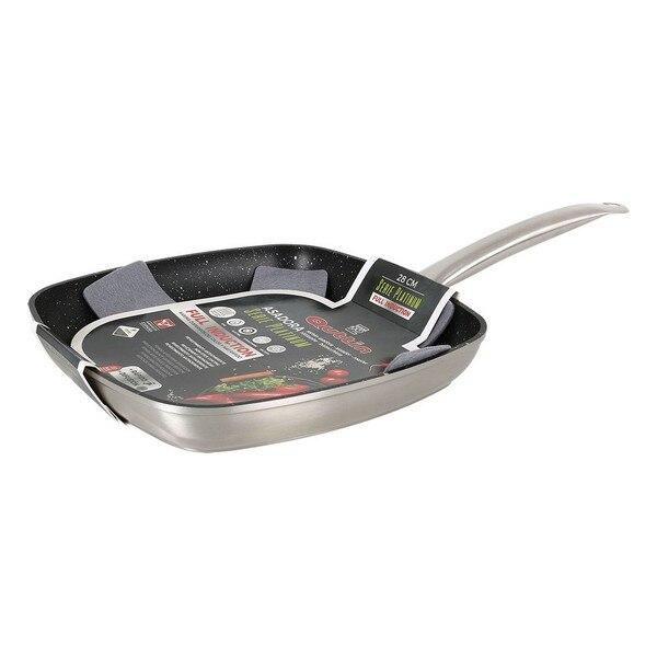 Flat Grill Pan Quttin Serie Platinum (Ø 28 Cm)