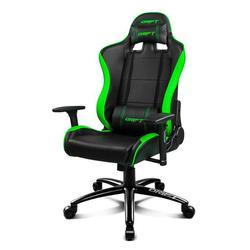 Fotel gamingowy DRIFT DR200BG 90 160 ° pianka PU czarny zielony|Gamepady|   -