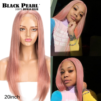 Brazilian Straight Human Hair Wigs 150% Density Colored Lace Front Human Hair Wigs Blonde Lace Fonral Wigs For Women 4X4