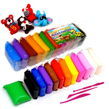 Light plasticine, Plasticine dough 12 colors set 160g.