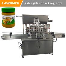Tanie masło orzechowe napełnianie butelek i maszyna uszczelniająca tanie tanio Land pack LD-LF001-6 Stojak tabeli Elektryczne Product name Flowing Liquid Stainless Steel 50-60 Bottles min 200ml-2000ml