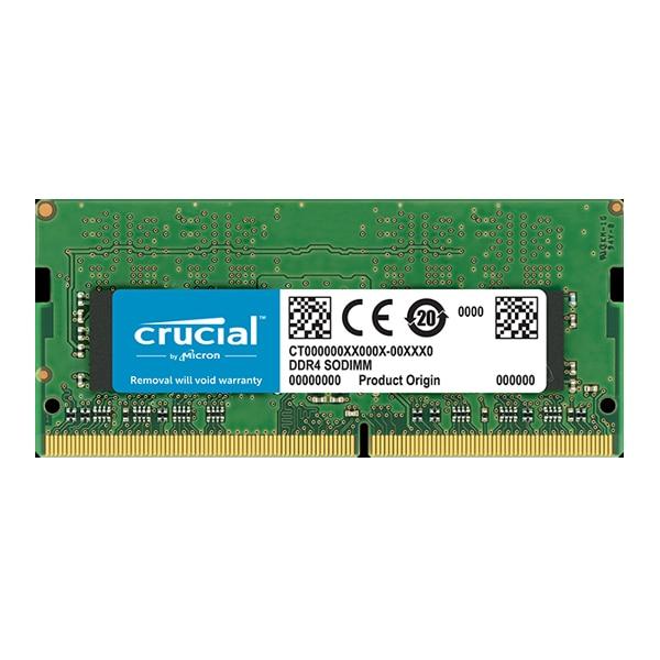 RAM Memory Crucial IMEMD40115 8 GB DDR4 2400 MHz RAMs     - title=