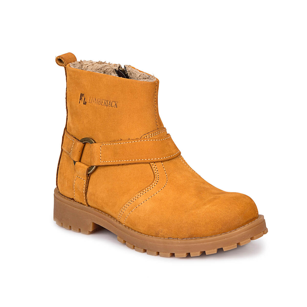 FLO LATEST Yellow Male Child Boots LUMBERJACK