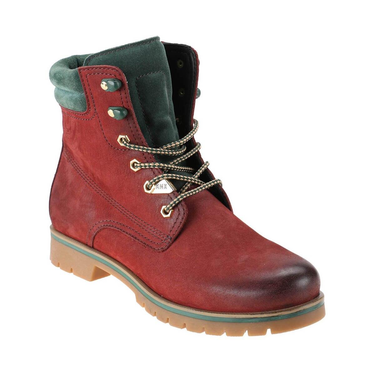 FLO 1252196 Burgundy Men 'S Boots KINETIX