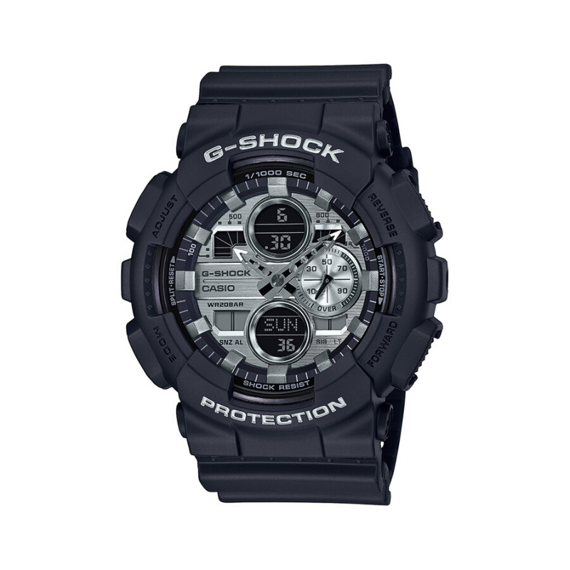 Casio Original Men Watch Fashion G-Shock Brand Luxury Waterproof Quartz Technology Men Edifice Resin Cord Casual Watch GA-140GM