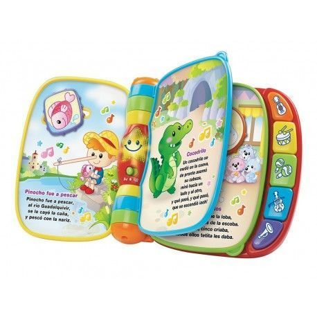 VTech First Songs, Musical Book, Multicolour