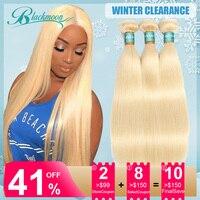 613 blonde hair bundles straight hair bundles brazilian hair weave bundles human hair bundles 3 bundles deal remy hair Blackmoon