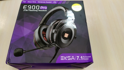 EKSA Gaming Headset with Virtual 7.1 Surround Wired Gamer Headphones With Noise Cancelling Mic For PC/Xbox/PS4|Headphone/Headset| |  - AliExpress
