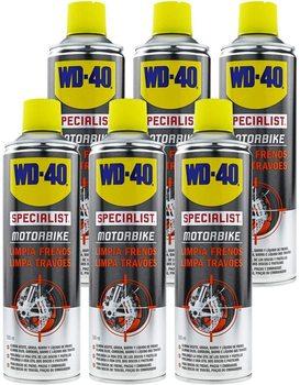 WD-40 Specialist Motorbike Pack 6 PCs-clean brakes-Spray 500ml wd 40 bike pack 6 pcs total bicycle cleaner sprayer 500ml