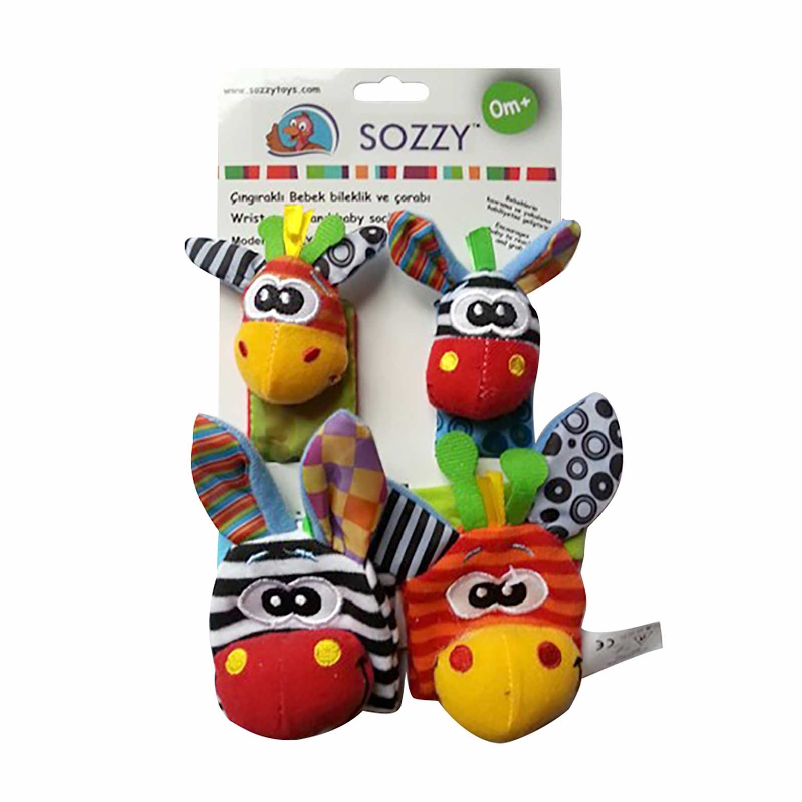 Ebebek Sozzy Toys Rattled Baby Bracelet And Socks