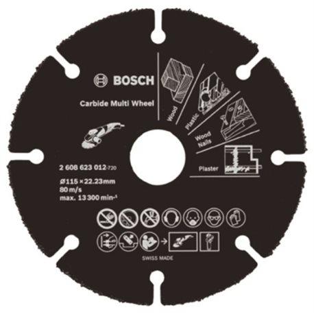 CUTTING DISC MULTIMAT 115X22, 23MM CARBIDE CARBIDE WHEEL BOSCH