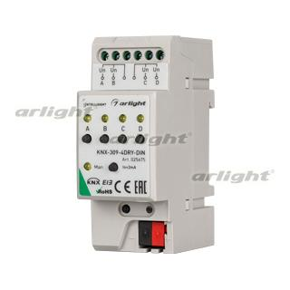 025675 INTELLIGENT ARLIGHT Converter KNX-309-4DRY-DIN (BUS) ARLIGHT 1-pc