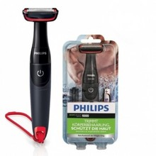 ORGINAL Philips BG105/11 Rechargeable Electric SHAVER Male Body Care Shaver For Sensitive Areas Global Universal(100-240v)