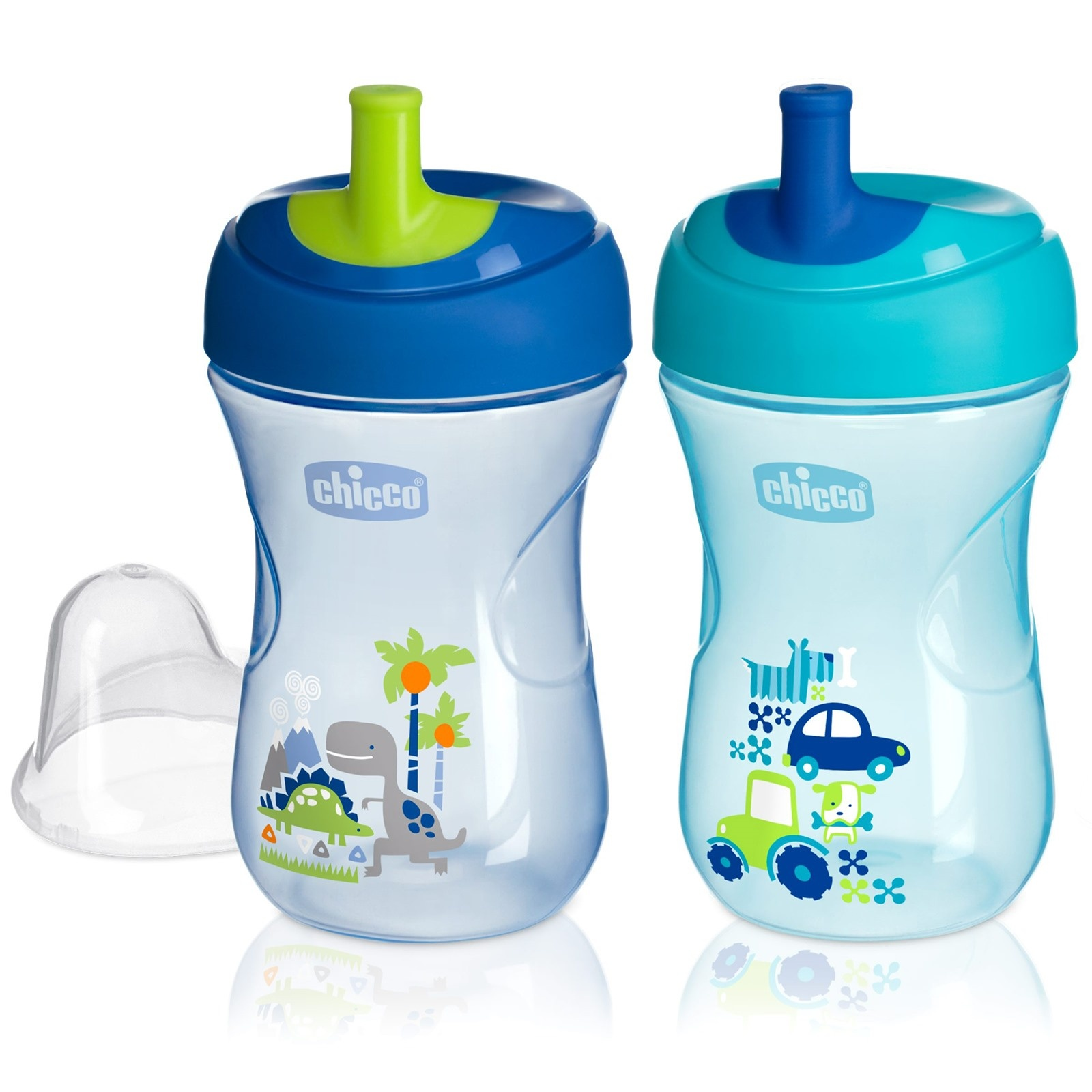 Ebebek Chicco Assorted Training Cup With Straw 266 Ml 12 M+ Boy