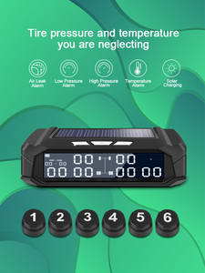 Sensor Alarm-System Usb-Monitoring Truck Car-Tire-Pressure-Monitor Solar-Energy High-Temperature