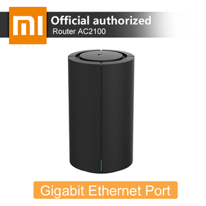 Xiaomi AC2100 High-speed Router Dual Frequency Band WiFi 128MB 2.4GHz 5GHz 360° Coverage Dual Core CPU MU-MIMO Game Remote