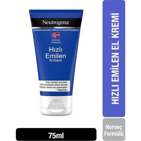 neutrogena noruega formula rapida absorcao creme de mao 75 ml