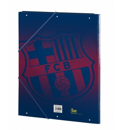 FOLDER FOLIO 3 LAPELS FCBARCELONA CO