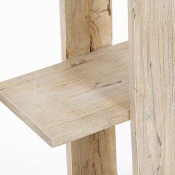 Estantes de madera Mindi (147x95x26 cm)-colección de vida pura de Craftenwood