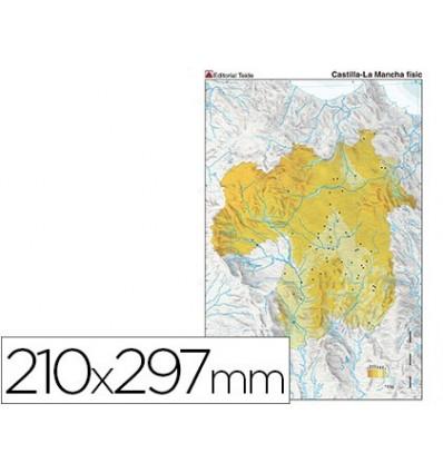 MAP MUTE COLOR DIN A4 CASTILLA-LA MANCHA PHYSICAL FITNESS 100 Units