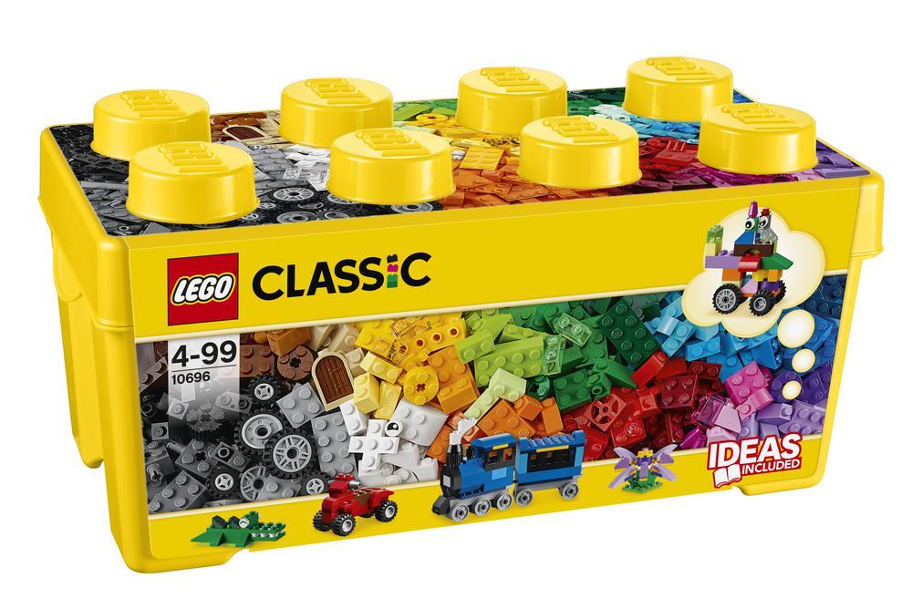 LEGO Classic Caja de Ladrillos Creativos Mediana LEGO® Juguete de Construcción Creativa para Niños (10696)| | - AliExpress