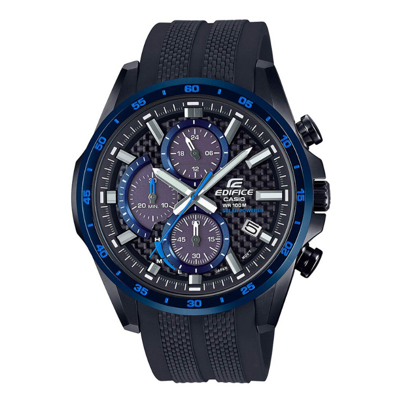 Casio % 100 Original Edifice Solar Powered Männer Uhr Marke Luxus Casual Quarz <font><b>100m</b></font> Wasserdichte Sport Uhr EQS-900CL image