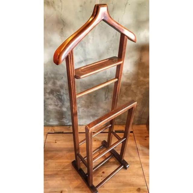 Wooden Butler Dressing Stand 3