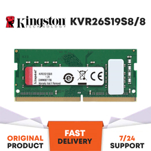 KINGSTON 2666MHz 8GB DDR4 NOTEBOOK RAM KVR26S19S8/8