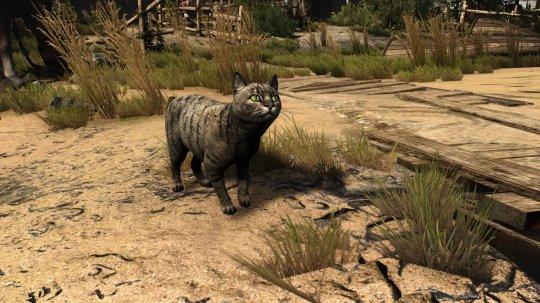 《巫师3》动物高清Mod 猫鸡牛等变得栩栩如生插图(1)