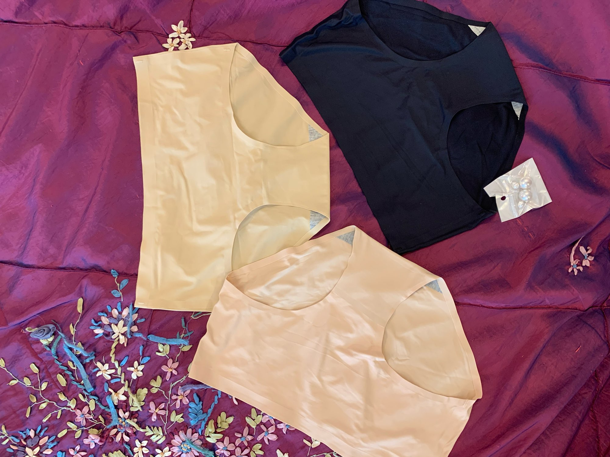 ALLMIX 3Pcs/Lot Sexy Women's SPorts Panties Sets Underwear Seamless Comfortable Underpants Low Waist Female Briefs Lady Lingerie photo review