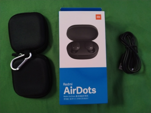 Xiaomi Redmi Airdots TWS Bluetooth 5.0  Earphone Stereo Wireless Active Noise Cancellation With Mic Handsfree Earbuds AI Control