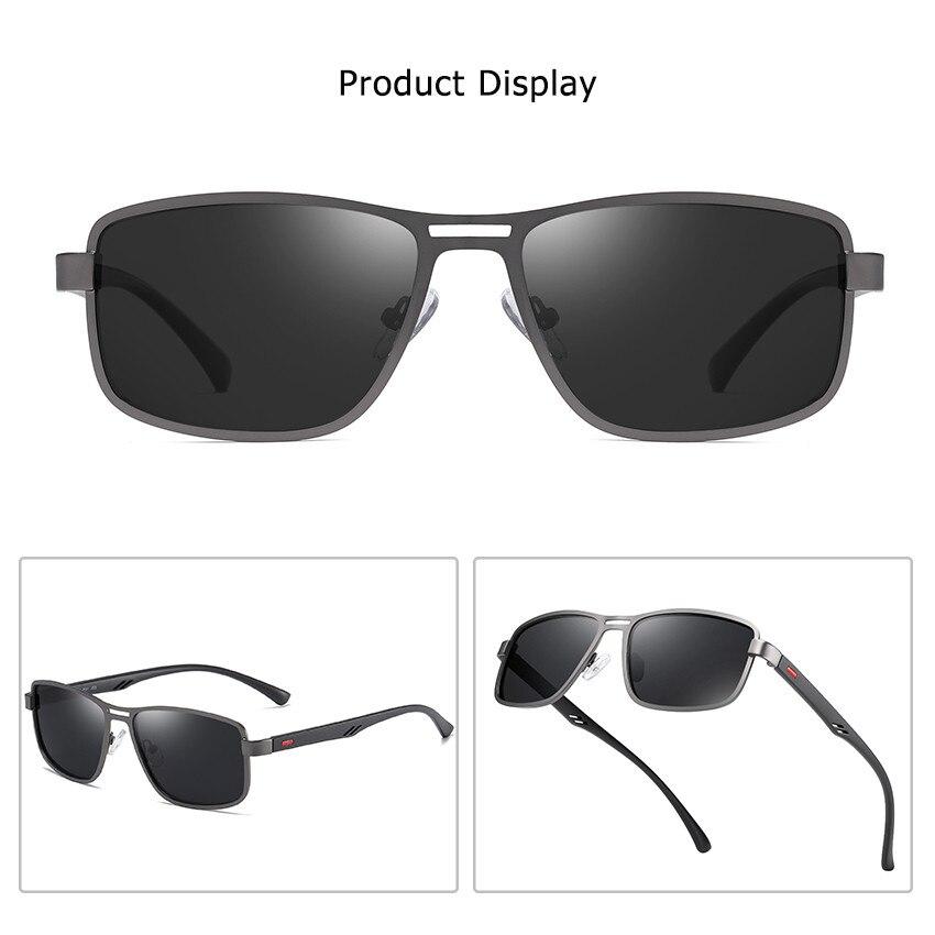 Cusoul Mens Polarized Sunglasses Men Classic Sun Glasses Eyeglasses Accessories  UV400 Male Eyewear