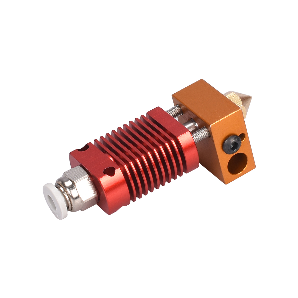 cheapest CR10 Hotend Extruder Kit MK8 Extruder 3D Printer Parts for Ender-3 CR10 Printer 1 75mm 0 4mm Nozzle j-head Heater Block parts